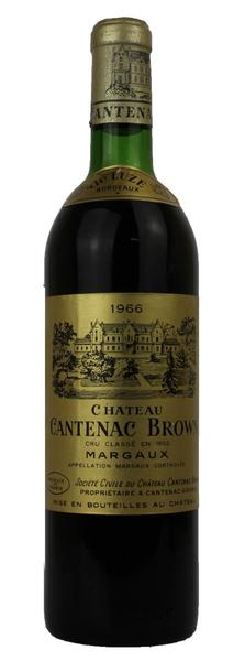Chateau Cantenac Brown , 1966